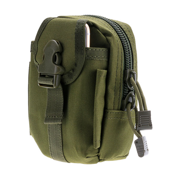 Tactical Molle PALS Sports Bag Small Utility Military Belt Travel Army Phone Pouch Hiking Running Outdoor - Act4Ring store