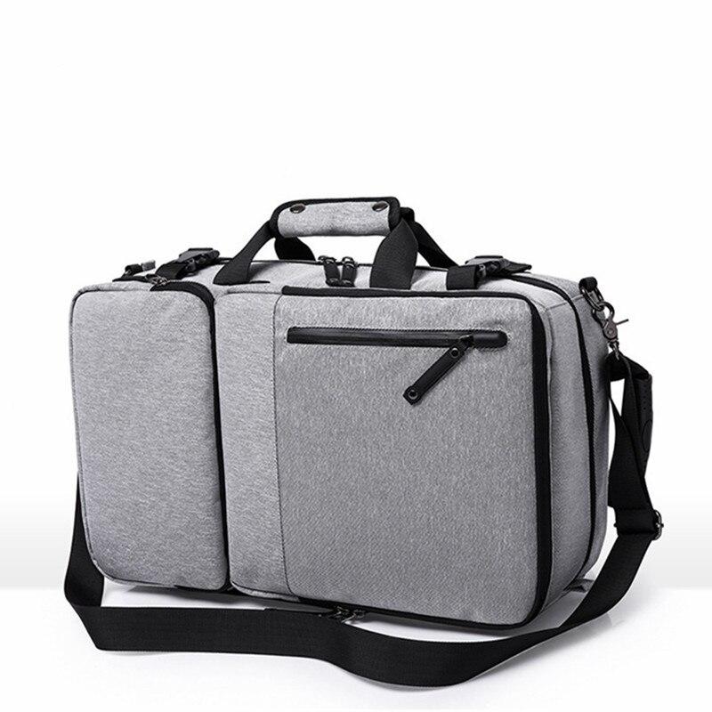 Grande capacité Anti-vol sac à dos hommes d'affaires 15 17 pouces ordinateur portable bagages sacs étanche garçon voyage sacs à dos cartable sac à dos