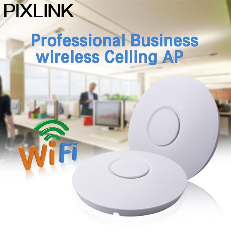 300 Mbps Sans Fil Point D'accès Plafond AP WIFI Routeur WIFI Répéteur WIFI Extender Signal Bosster Expander POE Adaptateur Intérieur AP