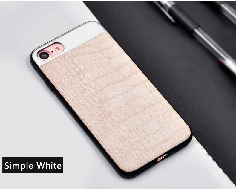 Kasatin Corrodie Pattern Leather Back Cover for iPhone 6 (10)