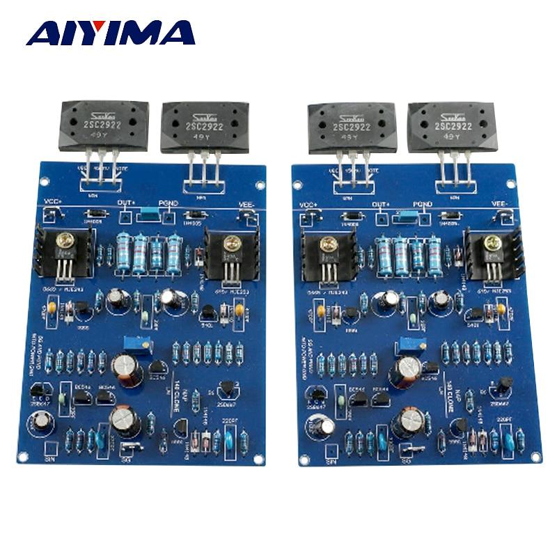 AIYIMA NAIM NAP140 AMP CLONE KIT 2SC2922 amplificateur de puissance carte Amplificador Kits AMP pour bricolage 2.0 canaux J163