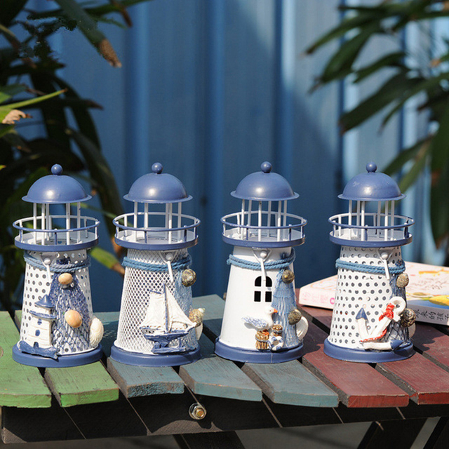 Candle Holders – Vintage Iron Lighthouse