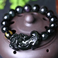 Counter genuine natural male and female Rainbow Obsidian bracelet Jewelry Minow big brave lucky evil fortune
