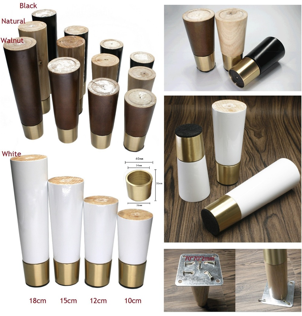 Home Mart Plastic Furniture Chair Couch Legs Round Shaped Cover Pipe Tube End Caps 8pcs