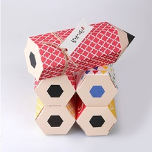Korean style creative cartoon pencil candy gift box Small food white card package color customized holiday 50pcs