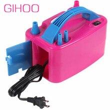 220 В или 110 В, высокое напряжение, двойное отверстие, переменный ток, надувной электрический фотоэлектрический насос для воздушных шаров
