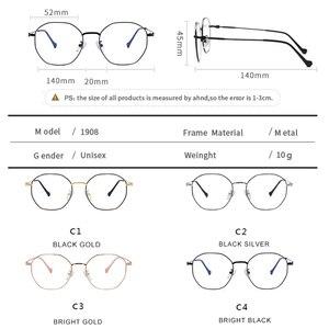 Image 5 - Gafas de protección contra luz azul para hombre y mujer, lentes con montura para juegos de ordenador, resistentes a la radiación, con UV400