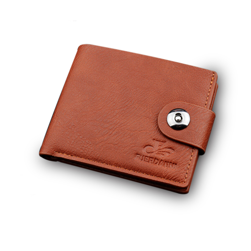 Men Wallet Leather Card Coin Holder Hot Sale Short Small Casual Famous Brand Money Pocket Dollar Price Male Purse Portomonee male leather casual short design wallet card holder pocket