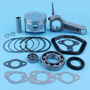 88mm Piston Ring Pin Connect Rod Bearing Seal Gasket Set For Honda GX390 13HP GX 390 190F Generator Power Engines
