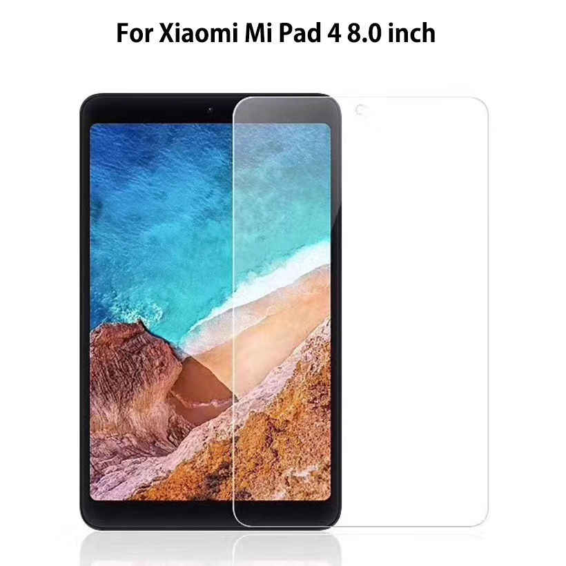 Tempered Glass For Xiaomi Mi Pad Mipad 4 Mipad4 8.0 inch 2018 Screen Protector Tablet Protective Film Toughened Guard