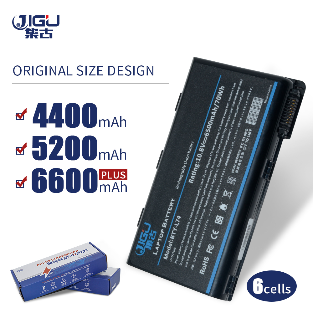JIGU Bty L74 Special Price Laptop Battery For <font><b>MSI</b></font> CR600 CR610 CR610X CR620 CR630 CR700 CX600 <font><b>GE700</b></font> 957-173XXP 957-173XXP image