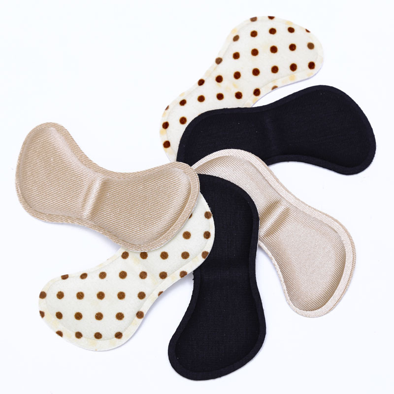 4D 1Pair Silicone Insoles High Heel Shoes Gel Pads Foot Protector Anti Slip Cushion Pads Shoe Insoles Insert Foot Care Tools