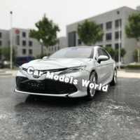 Diecast Auto Model voor 8th Generatie Camry 2018 1:18 (Wit) + KLEINE GIFT!