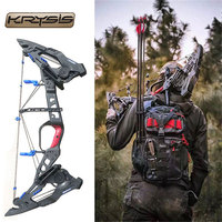 32 KRESIS Archery 21.5 80lbs Compound Bow Precision Steel Ball Bow Right Hand Outdoor Hunting Shooting Archery Accessories e