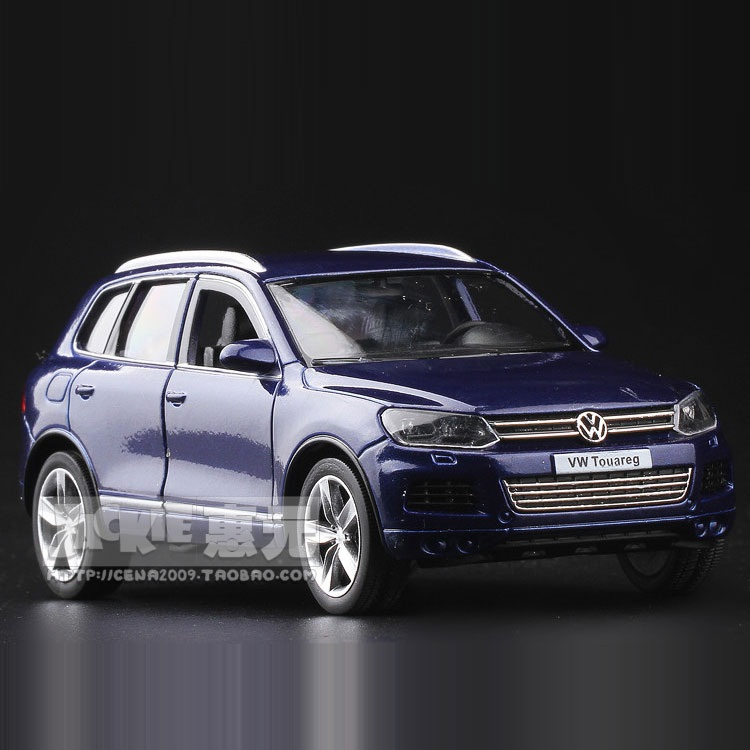High Simulation Exquisite Diecasts & Toy Vehicles: RMZ City Car Styling Touareg SUV 1:36 Alloy Diecast Model Pull Back Cars