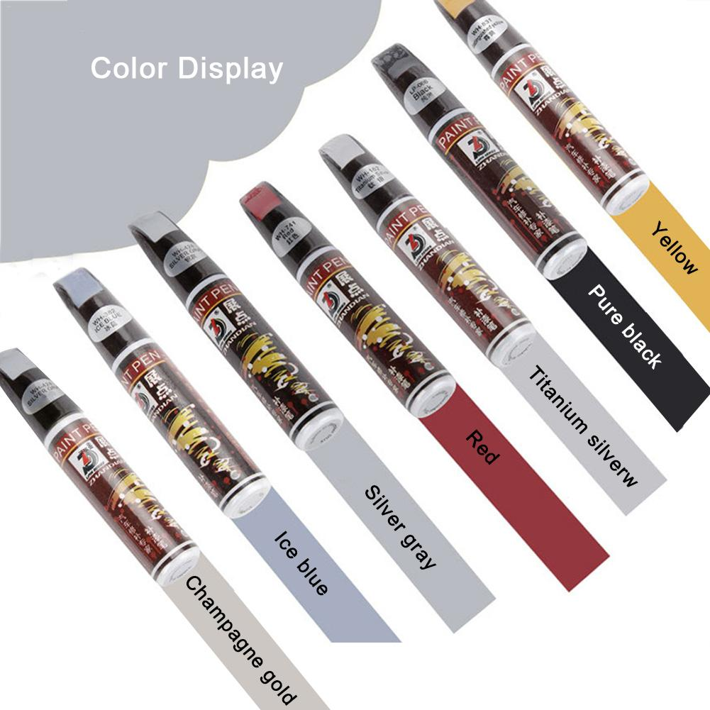Waterproof Car Care Paint Repair Pens Brush Car Scratch Remover Painting Remover Pen 13 Colors!