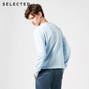 Image 3 - 選択綿 100% 刺繍男性の春プルオーバーパーカーメンズラウンドネックトレーナー服 S