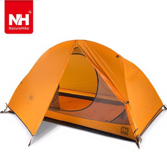 1.5KG naturehike ultralight tent 1 person outdoor c&ing hiking waterproof tents Single carpas plegables tenda  sc 1 st  AliExpress.com & 1.5KG naturehike ultralight tent 1 person outdoor camping hiking ...