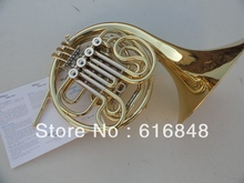 4 key single French horn FB key French horn with case surface gold