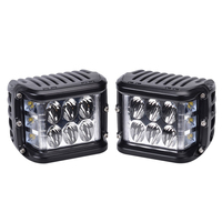 2800LM 4 Inch 45W Three sides Shooter Cube Led Work lamp Off Road Flood light Bright for SUV Truck RV