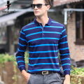 Troilus 2017 New Arrival Classic Striped Men Polo Shirts Cotton Long Sleeve apel Slim Fit Casual Business Luxury Brand Clothing