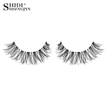 7 pairs natural false eyelashes makeup fake lashes long faux cils wispies eyelashes eyelash extensions eye lashes