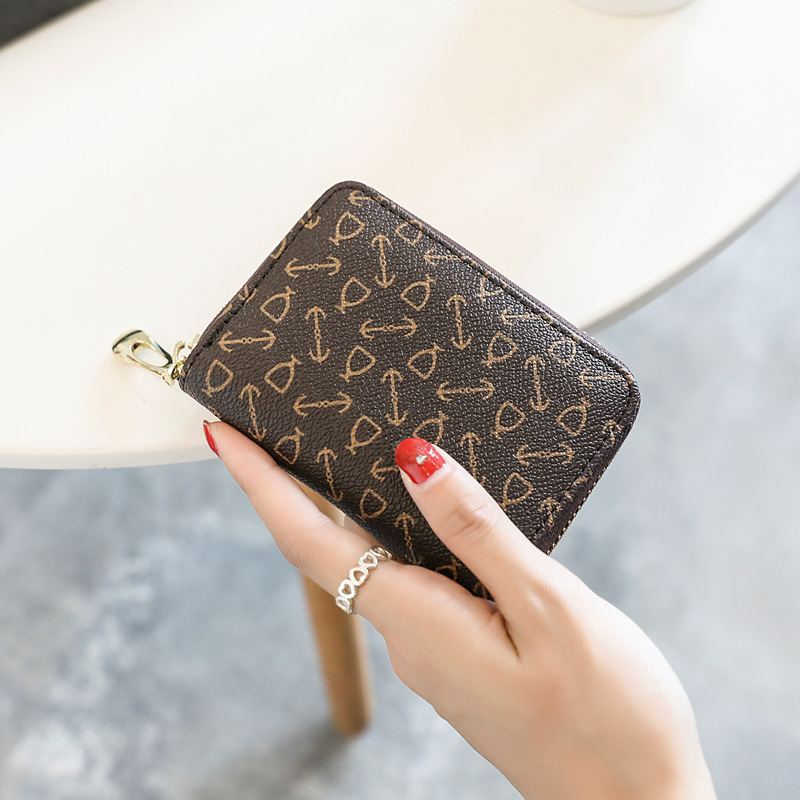 Fashion Luxury Women Wallet Purse Wallet With Coin Card Purse For Cards Leather Purses With Clutch And Zip Money Pocket Purse