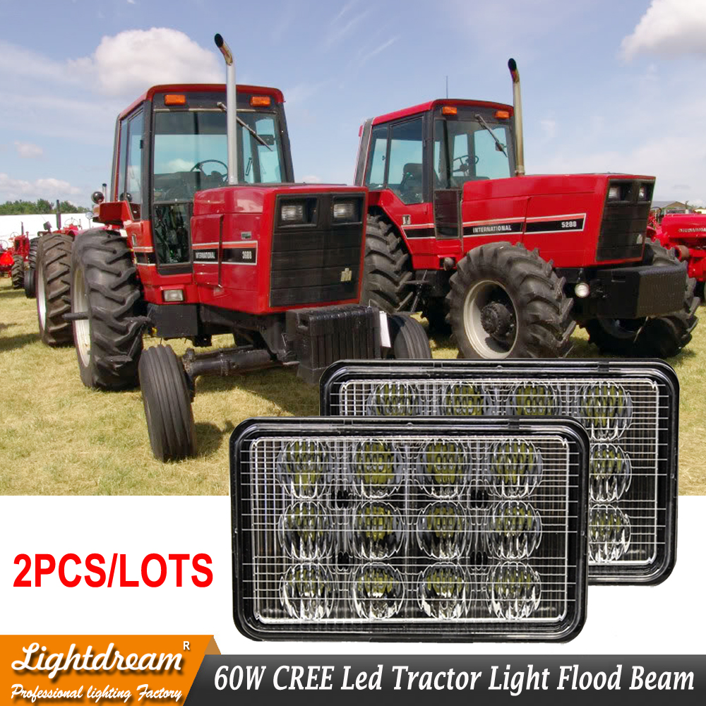 Replaces Left Right Hand Lower Cab Light Located Under Ladder Case IH Agricultural LED Lights Flood