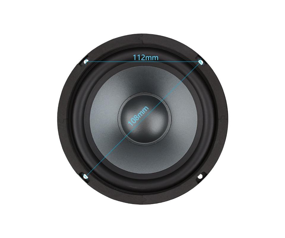AIYIMA 1 шт. 6,5 дюймов СРЕДНИЙ НЧ-динамик Hifi Fever Bass громкий динамик 4 8 Ом 50 Вт книжная полка напольный Звук Музыка DIY динамик s колонка