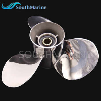 Stainless Steel Propeller 11 3/8x12-G For Yamaha 40HP 50HP Outboard Motor Boat Engine 11 3/8 x 12 -G 13 splines,Free Shipping - DISCOUNT ITEM  17 OFF Automobiles & Motorcycles