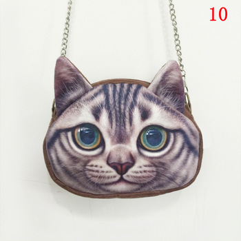 chain bag cute Animal cat Printing women shoulder bags female women messenger bags crossbody bags for women purses and handbags