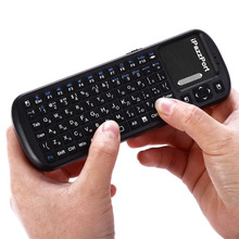 iPazzPort KP-810-19S Russian Version 2.4G Wireless Mini Keyboard Super Sensitivity Multi-Touch Keyboard For PC