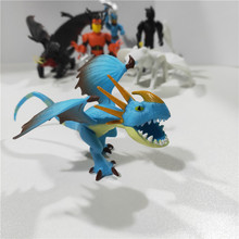 8 Pcslot How To Train Your Dragon 3 Toothless Light Fury Night Action Figure White Children's Toys