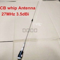 OSHINVOY CB radio zweep antenne 27 MHz high power 100 W CB 27 M antenne mobiele CB 27 M antenne 3.5dBi-in Antennes voor communicatie van Mobiele telefoons & telecommunicatie op