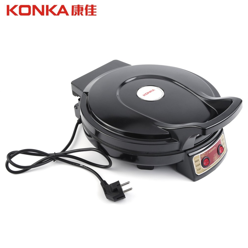 KONKA Electric Griddle & Backer Dual-side Heating Baking Pan Frying Machine Household Baking tray Kitchen Use BakewareK EU Plug konka electric griddle