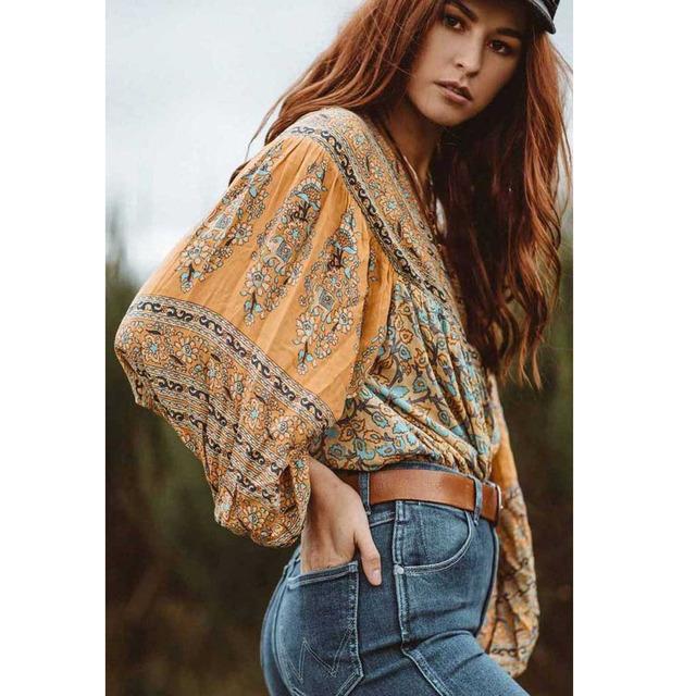 Gypsy Elastic Boho Skirt