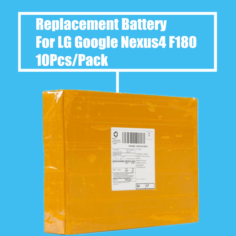 New Arrival 10Pcs/Pack <font><b>2100mah</b></font> Replacement <font><b>Battery</b></font> For <font><b>LG</b></font> Google Nexus4 E960 E975 E973 LS970 F180 High Quality image