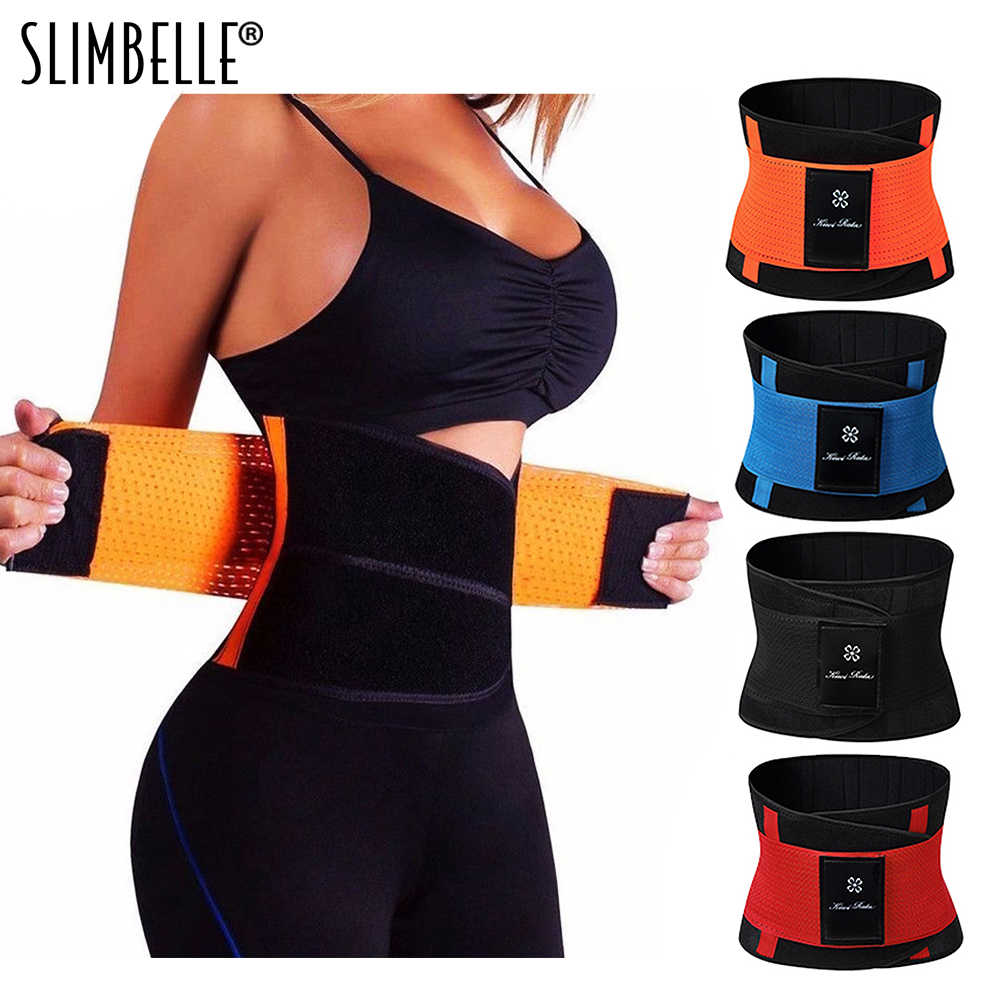 5905635510 Women Men Sweat Belt Modeling Strap Hot Shaper Waist Cinchers Waist Trainer  Corset For Weight Loss