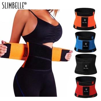 Women Men Sweat Belt Modeling Strap Hot Shaper Waist Cinchers Waist Trainer Corset For Weight Loss Belly Slimming Belt Shapewear subwoofer