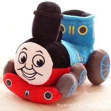 9.8 »25 см Kawaii Синий Бак Поезд Томас & Друзья Симпатичные Фаршированные Плюшевые Игрушки Куклы для Девочки Мальчик Подарок на день рождения