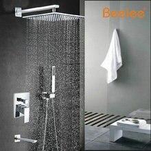Опт и розница продвижение новых современных 12 » дождь душа ванная комната ванна носик душ рука клапан смеситель