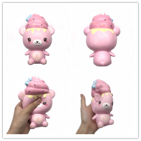 Original Creamiicandy yummiibear creamiibear Squishy Slow Rising Soft original packing manufacturer by Puni maru