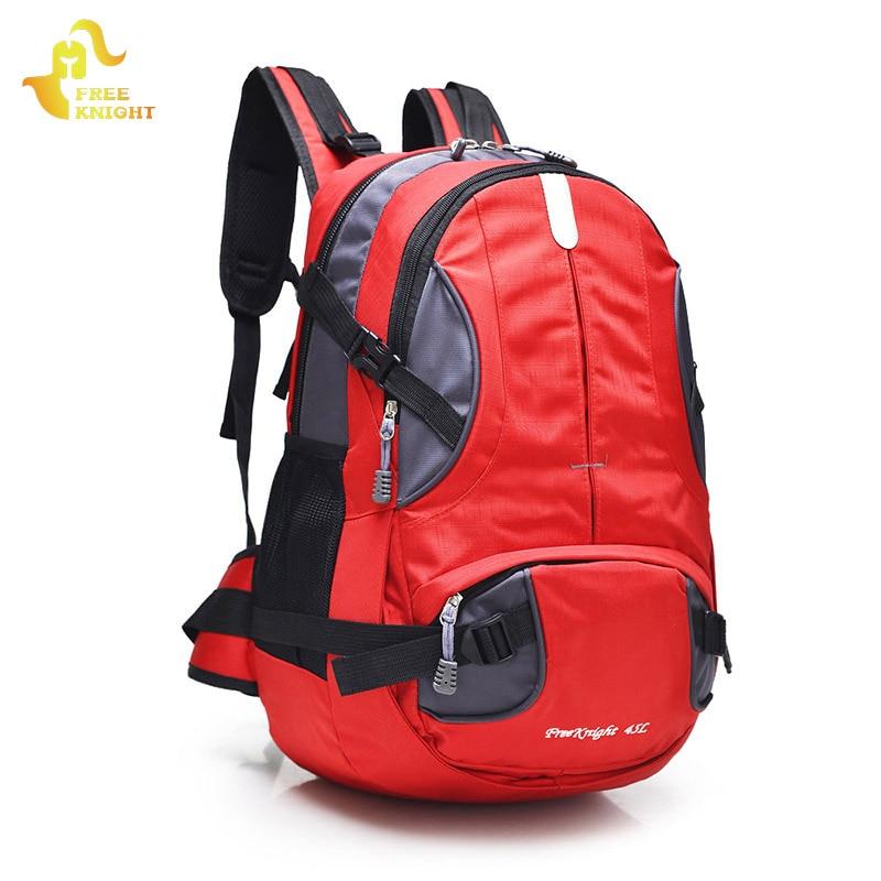 Free Knight 45 L Sports Bag Hiking Backpacks Nylon Molle Waterproof Travel Bag Camping Bags Outdoor Climbing Backpack Men Women