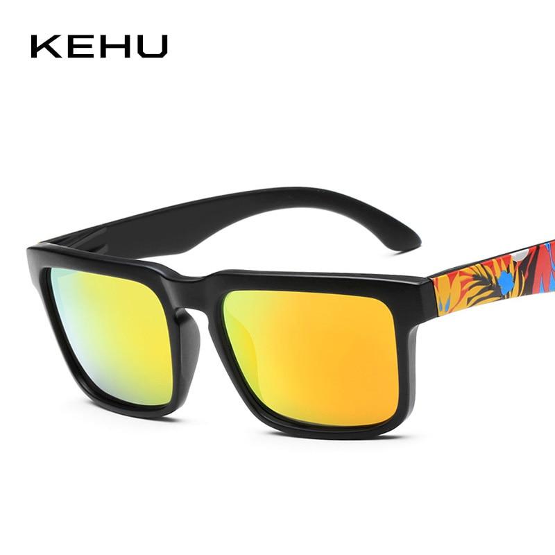 KEHU Men Square Polarized Sunglasses Brand Polarized Eyeglasses - Accesorios para la ropa - foto 3