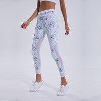 yoga pants sport leggings women seamless leggings elastic waist gym high waist leggins C5252 sport women fitness gym shark
