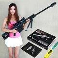 Frete grátis Escala 1:1 M82A1 12.7mm Rifle Sniper modelo 3D de Papel modelo Kits Cosplay Criança Modelos De Papel Arma Brinquedos Arma Armas Dos Adultos
