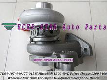 Free Ship Water TD04 49177-01515 MR355220 Turbo Turbocharger For Mitsubishi Delicia Pajero Shogun L200 L300 L400 4D56T 4D56 2.5L