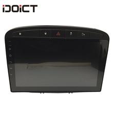 IDOICT Android 8,1 автомобильный DVD плеер с gps-навигатором для peugeot 408 для peugeot 308 308SW аудио Радио стерео головное устройство