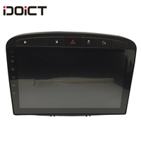 IDOICT Android 8.1 Car DVD Player GPS Navi for Peugeot 408 for Peugeot 308 308SW Audio Radio Stereo Head Unit