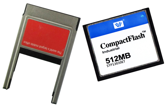 COMPACT FLASH CARD 512MB CF Card 512mb with PCMCIA PC card adapter